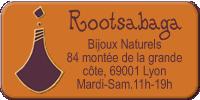 Rootsabaga Bijoux Naturels Logo