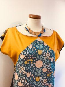 creation artisanale bijoux naturels lyon boutique createurs bijoux bois collier gourmandise bleu roivêtements
