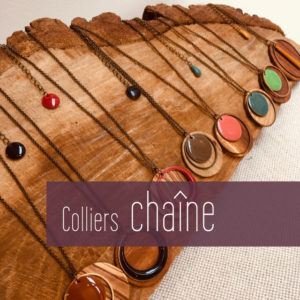 Colliers chaine
