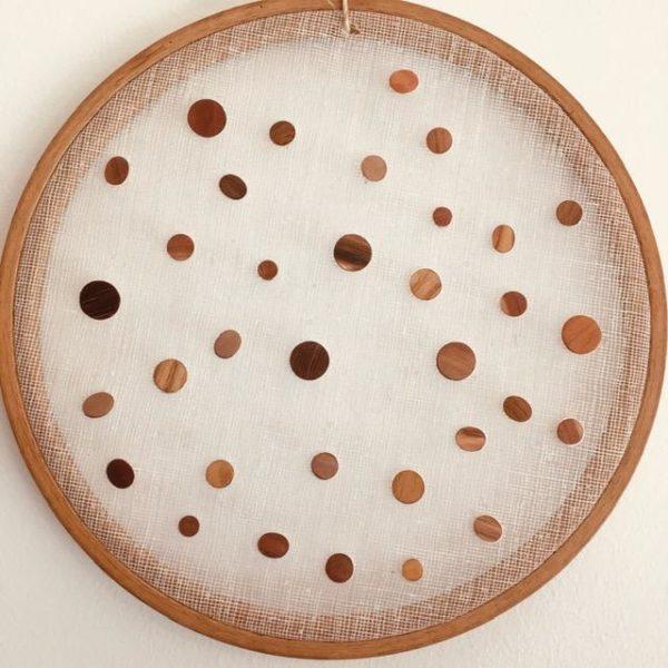 boucles d'oreilles puces bois et argent différentes tailles et bois Rootsabaga mini boucles d'oreilles