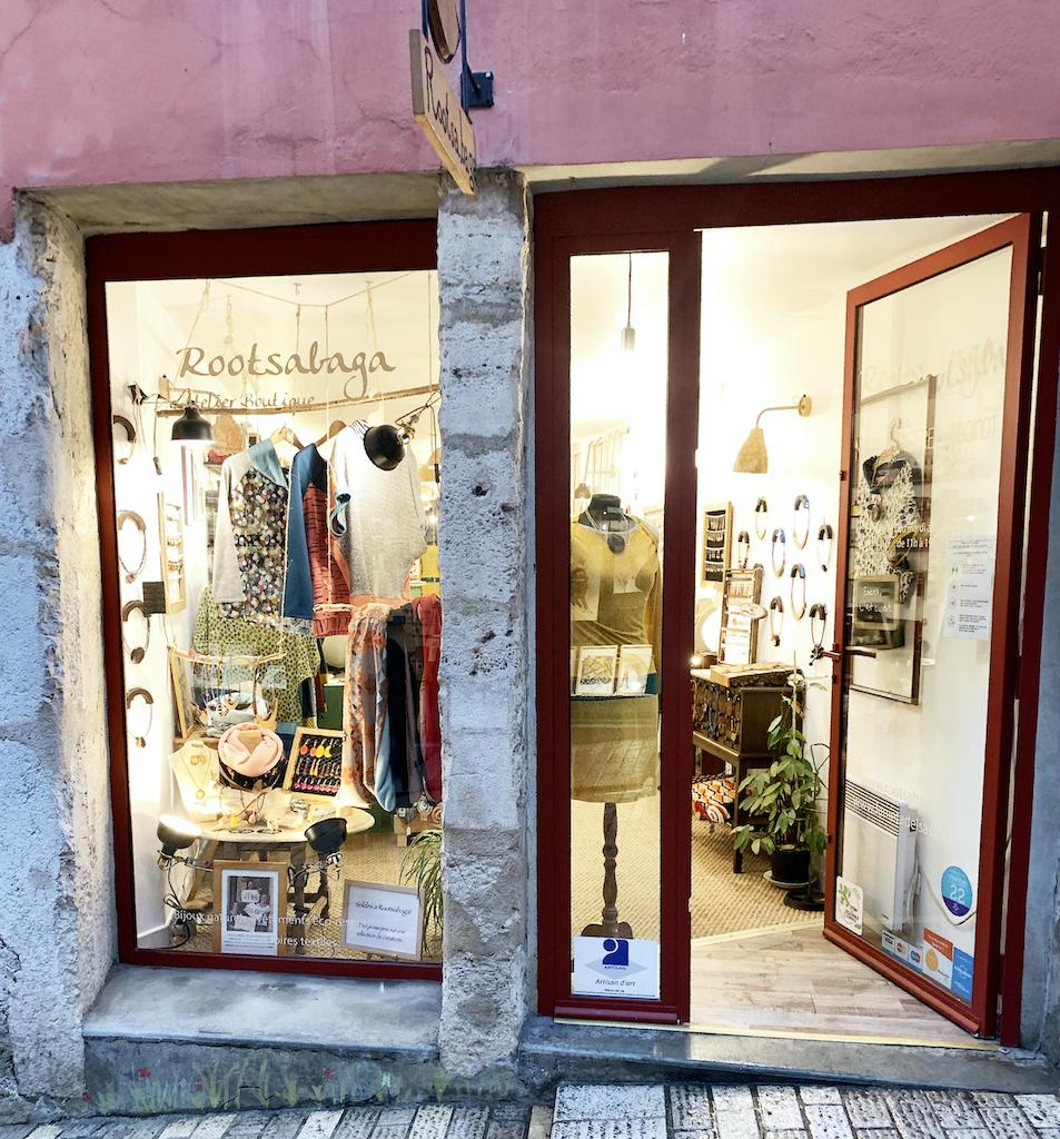 Rootsabaga la boutique exterieur